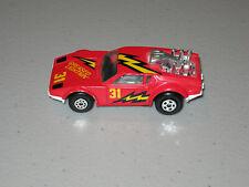 Vintage Matchbox = Grease Lightning = Red De Tomaso Pantera
