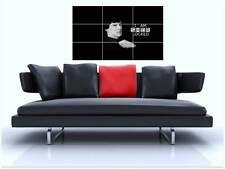 "SHERLOCK BORDERLESS MOSAIC TILE WALL POSTER 35"" x 25"" I AM SHER LOCKED"