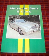 MERCEDES-BENZ E CLASS  ROAD TEST REPRINT BOOK CP PRESS 1995-2002 E55 E320 E200