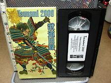 TSUNAMI 2000 Video Catalog II martial arts excerpts Asian VHS karate kata JKA