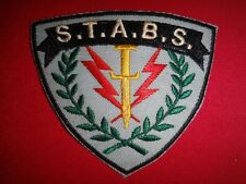 "US Navy STRIKE ASSAULT BOAT SQUADRON ""s.T.A.B.s."" Vietnam War Patch"