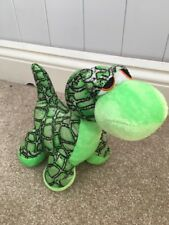 B J Toy Co Inc Green Dinosaur Soft Toy Approx 9""