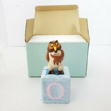 Disney Kids Learning Toys Winnie The Pooh Owl Fun Blocks Figurine Baby Nursery