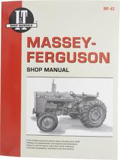 Shop Manual Itmf43 Fits Massey Ferguson 255 265 270 275 290