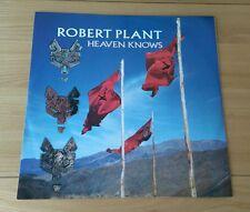 "Robert Plant Heaven Knows 1988 UK 12"" Single A1 B1 Classic Rock Led Zeppelin"