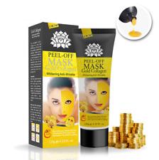 24K Gold Collagen Mask Whitening Anti-aging Wrinkle Face Care Peel Off Mask
