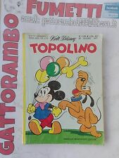 Topolino N.1126 con bollino - Mondadori buono