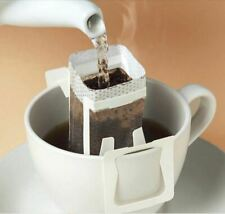 50Pcs Pour Over Coffee Cup Mug Hanging Filters Travel Hotel Office Portable Tea