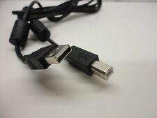 USB A to B Standard Printer Scanner Peripheral Cable Wire 5ft 2 Ferrites