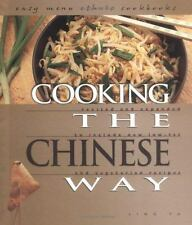 Cooking the Chinese Way (Easy Menu Ethnic Cookbooks)-ExLibrary