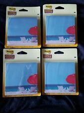 New Lot Designer Post It Super Sticky 3 78 X 3 78 Notes 75 Sheets Each Beach