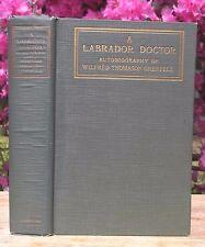 1919 LABRADOR NEWFOUNDLAND DEEP SEA FISHERMEN INUITS HOSPITALS DOCTOR BIOGRAPHY
