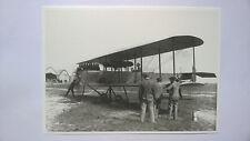 Avion Biplan Astra à terre 1912  RENAULT 1997 Carte postale 21x15 cm