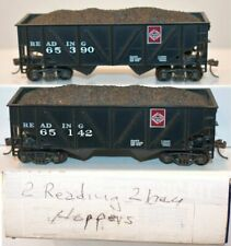 HO Bowser Executive Reading 55 Ton Fishbelly Hopper WEATHERED PRR NYC Erie DL/&W