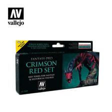 VAL74103 - AV Vallejo Fantasy Set - Crimson Red set (8)