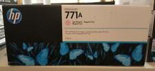 New Genuine Factory Sealed HP 771A Light Magenta Ink Cartridge Dec 2014 B6Y19A