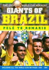 Giants of Brazil: Pele to Romario - The Greatest World Cup Winners NEW R4 DVD