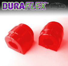 BMW E46 M3 27mm Front Anti Roll Bar Mounts - RED Duraflex Polyurethane