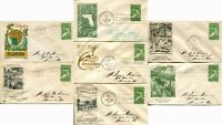 #952 EVERGLADES NATIONAL PARK FDC First Day Cover Postage Cachet Collection 1947