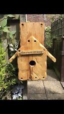 Rustic Wooden Pallet Bird House / Nesting Box - Handmade