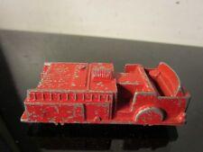 1958 Vintage Midgetoy Red Fire Engine Truck Rare Rockford ILL.~