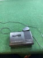 RADIOSHACK TCR-200 VOICE ACTIVATED TELEPHONE CASSETTE TAPE RECORDER Works