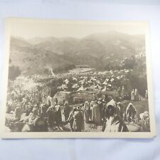 Photo Flandrin - large Heliograph Editions Mars - 43 Moulay Idriss Pélerinage