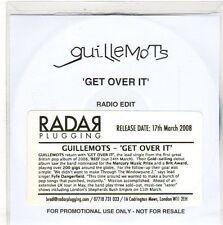 (EO292) Guillemots, Get Over It - 2008 DJ CD