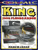 Fluorcarbon 100% Made in Japan Colmic KING ø0,10->ø0,25