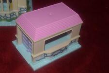 Vintage Blue Box Nicoles Deluxe Light up Dream mansion dolls house spares