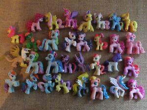 Mini Mystery Figurines My Little Pony Lot of 31 Hasbro 2006-2010
