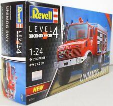 Revell 1:24 07531 Schlingmann Unimog RW1 Model Truck Kit