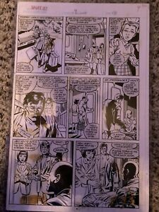 X-Men Original Published Art What If 9 New Mutants Wolfsbane Xavier Stan Lee