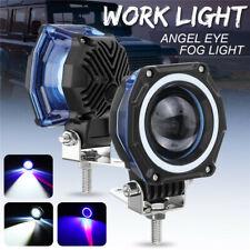 3INCH 20W Round LED Work Light Bar Spot Driving Fog Offroad 4WD Car Truck 12-80V
