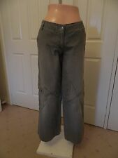SPORTSGIRL Grey Denim Heavyweight Jeans - Size 10