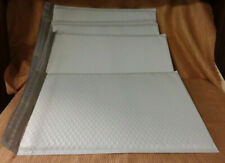 """5 White Poly Bubble Mailers (15""""x10.5"""") Shipping Mailing Padded Bags Envelopes"""