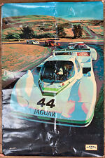 Camel Jaguar XJR Race Car Poster from IMSA Camel GT Advertisement