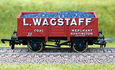4mm LIMITED EDITION COAL WAGON WAGSTAFF OF HUNTINGDON