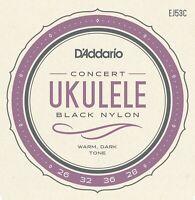 D'Addario EJ53C Pro Arte Rectified Nylon Hawaiian Concert Ukulele Strings GCEA