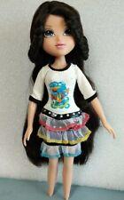 """Moxie Girlz Lexa 10"""" MGA Doll Black Hair"""
