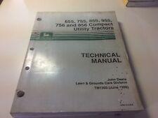 John Deere 655 755 855 955 756 856 Compact Tractors Technical Manual Tm1360