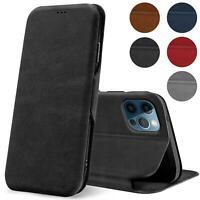 Handy Tasche für iPhone 12 Pro Max Hülle Schutzhülle Book Case Etui Flip Cover
