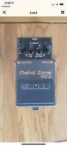 Boss Metal Zone Pedal MT 2