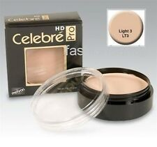 Celebre HD Pro ~ Mehron Quality Foundation Cream Theatrical Stage Makeup Light 3