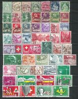 SUISSE 9 PAGES    400TIMBRES DIFFERENTS   FORTE COTE    A SAISIR