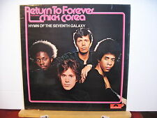 RETURN TO FOREVER featuring CHICK COREA Hymn of the Seventh Galaxy UK VINYL LP
