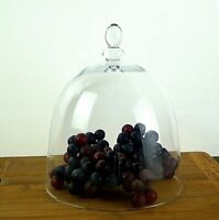 Glass Apothecary Cake Dome Pastry Glass Display 20 cm Cloche jar Dome Cheese