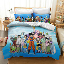 Anime Dragon Ball 3D Print Bedding Set Duvet Cover & Pillowcase F