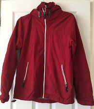 Mens Next Red Lightweight Casual Coat Jacket With Hood Size M B69