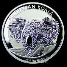 Australia Koala 2014 Silver .999 1oz Coin (UNC)